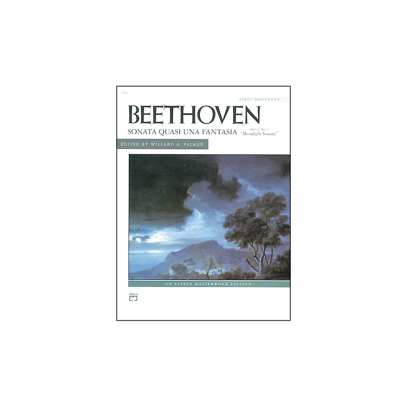 Alfred Beethoven Moonlight Sonata Op. 27 No. 2 (1st Movement) Late Intermediate Piano thumbnail