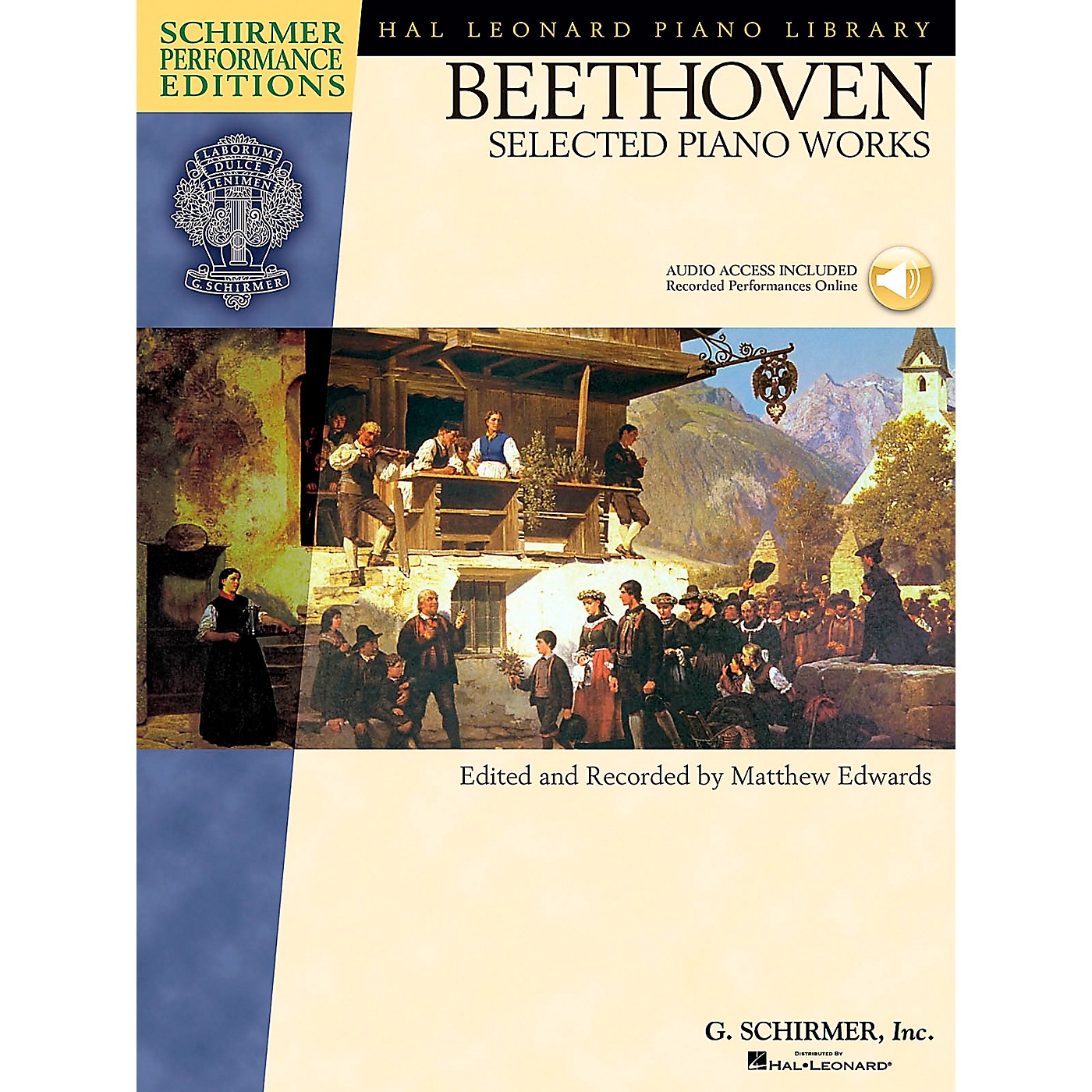 G. Schirmer Beethoven: Selected Piano Works Book/CD Schirmer Performance Edition By Beethoven / Edwards thumbnail