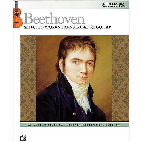Alfred Beethoven  Selected Works Transcribed for Guitar Book thumbnail