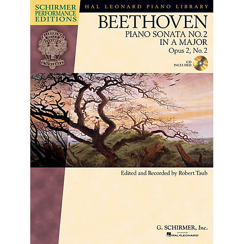 G. Schirmer Beethoven: Sonata No 2 in A Maj Op 2 No 2 Schirmer Performance Editions BK/CD by Beethoven Edited by Taub thumbnail