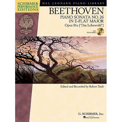 G. Schirmer Beethoven Sonata No 26 in E-flat Maj Op 81a (Das Lebewohl) Schirmer Performance Ed BK/CD Edited by Taub thumbnail