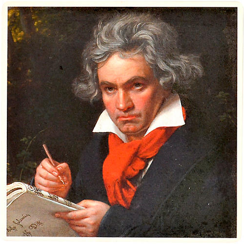 AIM Beethoven Stone Coaster thumbnail
