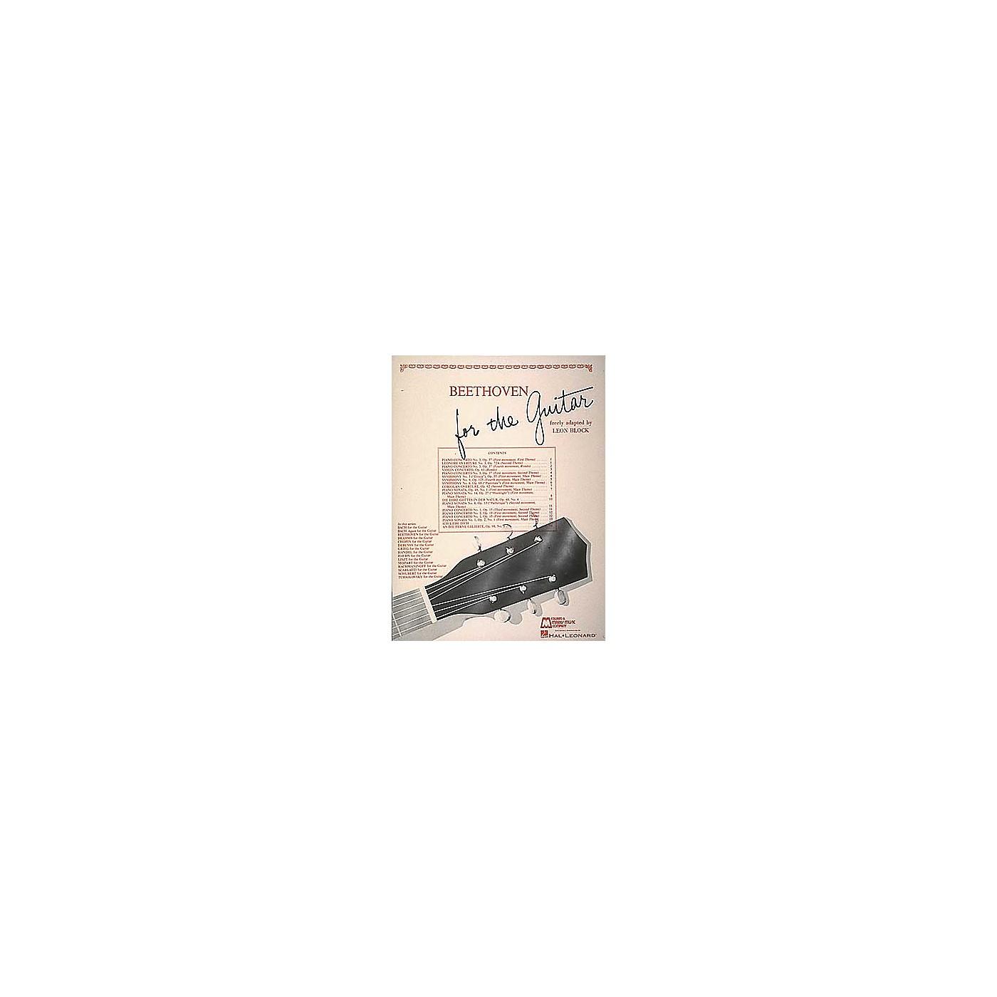 Edward B. Marks Music Company Beethoven for Guitar Book thumbnail