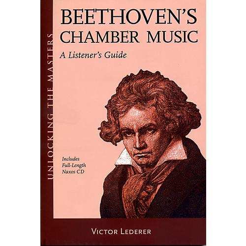 Hal Leonard Beethoven's Chamber Music - Unlocking The Masters Series Book/CD thumbnail