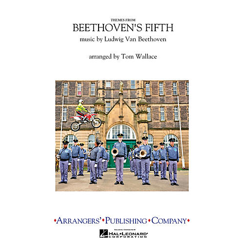 Arrangers Beethoven's Fifth Marching Band Level 4 Arranged by Tom Wallace thumbnail