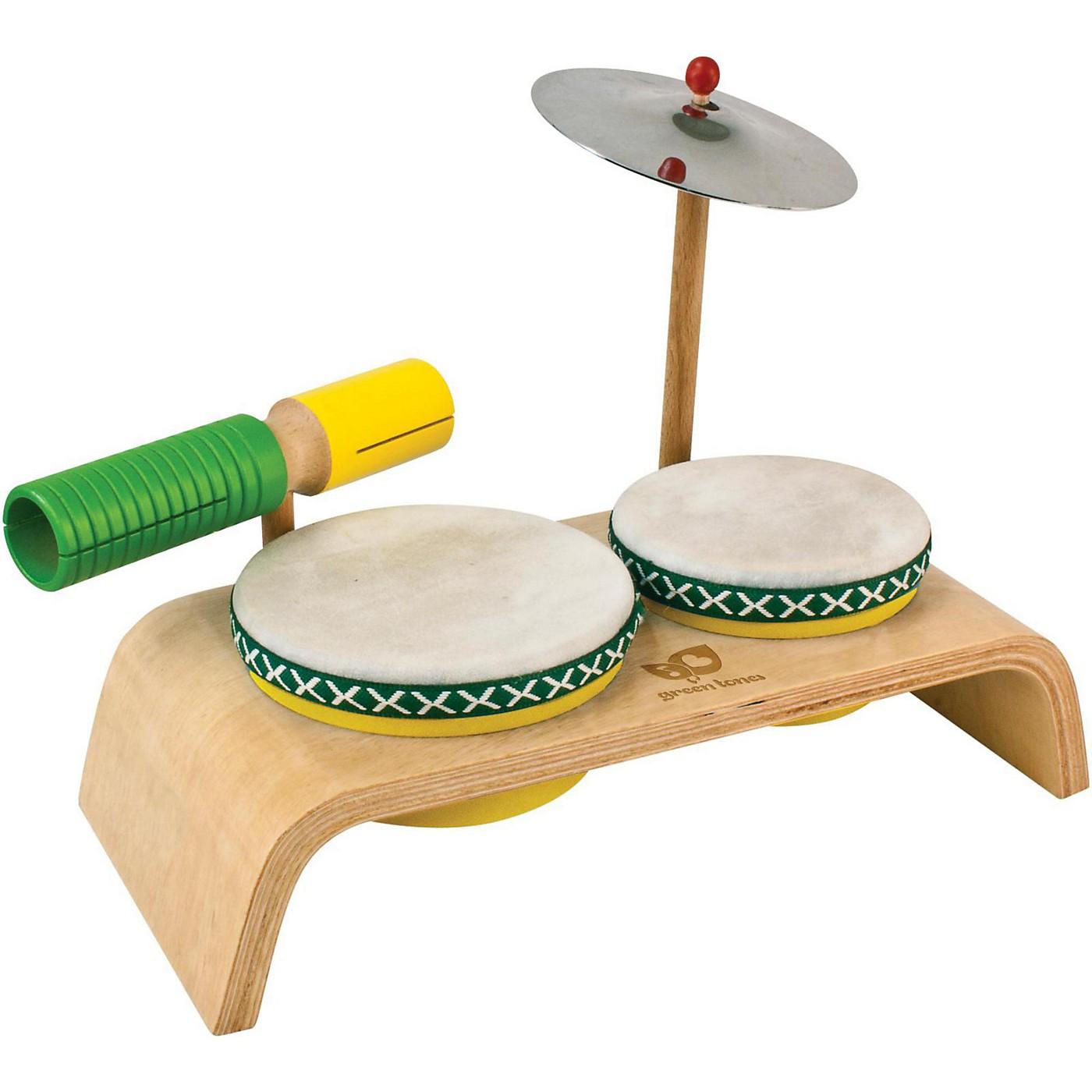 Green Tones Beginner Percussion Set thumbnail