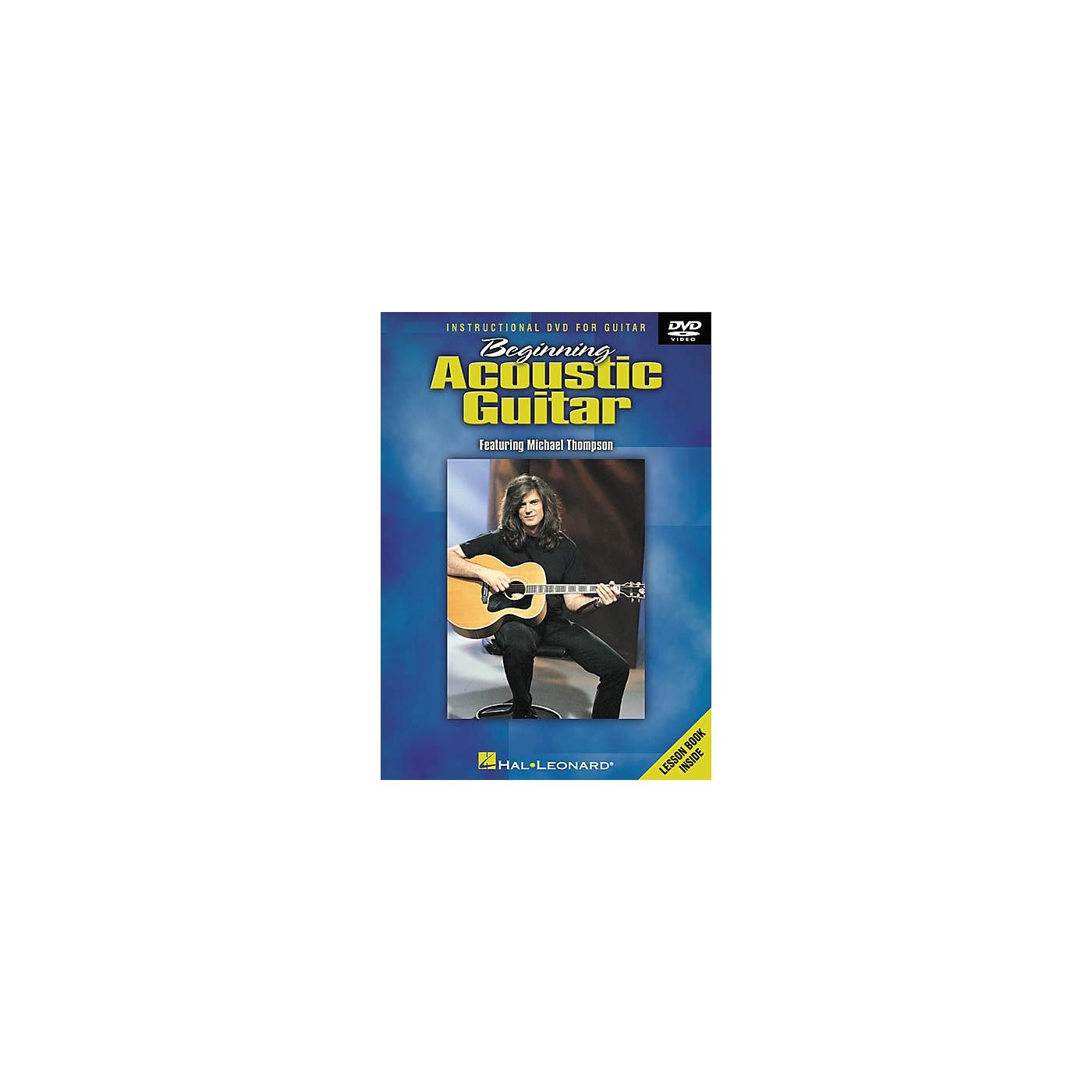 Hal Leonard Beginning Acoustic Guitar (DVD) thumbnail