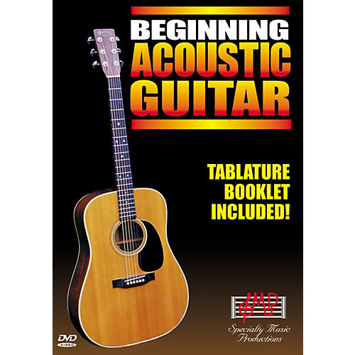 Specialty Music Productions Beginning Acoustic Guitar (DVD) thumbnail