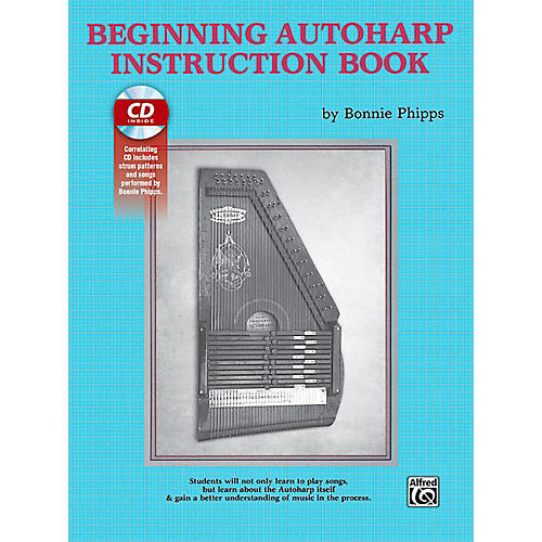 Alfred Beginning Autoharp Instruction Book & CD thumbnail