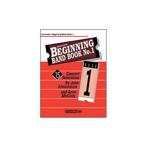 KJOS Beginning Band Book 1 Clarinet 2 /Edmondson /Queenwood-thumbnail