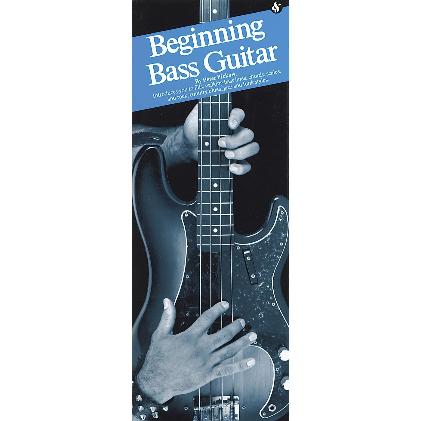 Music Sales Beginning Bass Guitar thumbnail