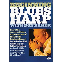 Music Sales Beginning Blues Harp Music Sales America Series DVD Written by Don Baker