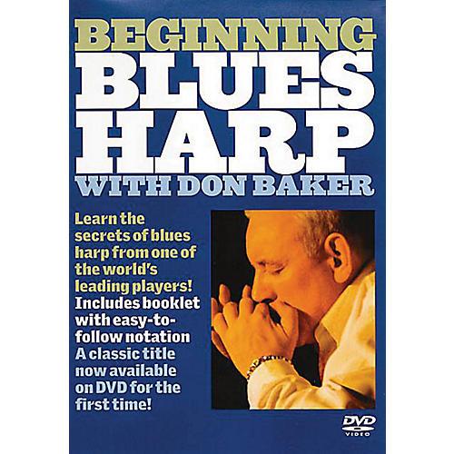 Music Sales Beginning Blues Harp Music Sales America Series DVD Written by Don Baker thumbnail