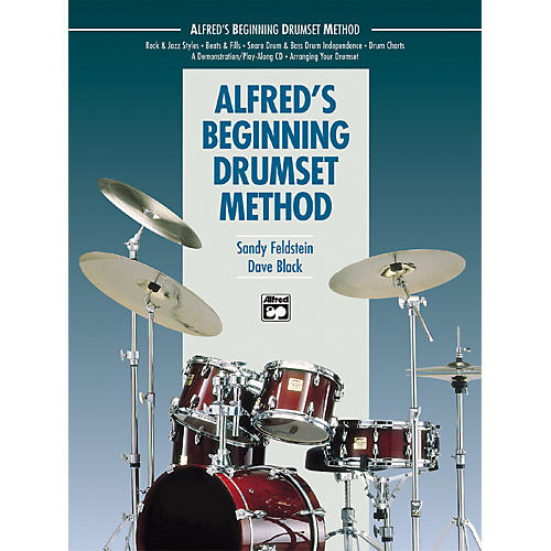 Alfred Beginning Drumset Method Book with CD thumbnail