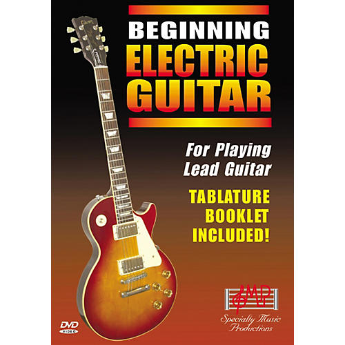 Specialty Music Productions Beginning Electric Guitar DVD thumbnail