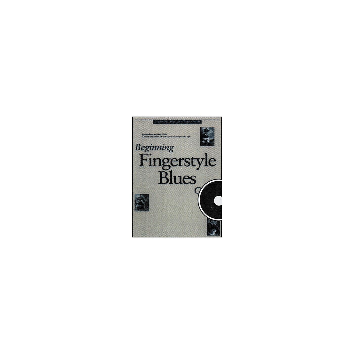 Music Sales Beginning Fingerstyle Blues GuitarCD thumbnail