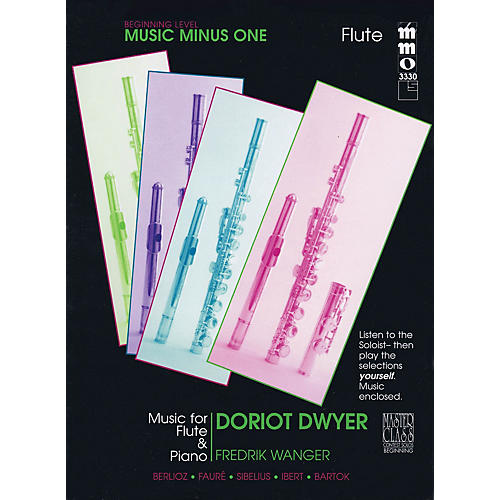 Music Minus One Beginning Flute Solos - Volume 3 Music Minus One Series Softcover with CD thumbnail