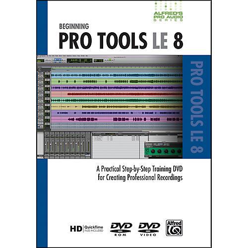 Alfred Beginning ProTools LE 8 (DVD) thumbnail