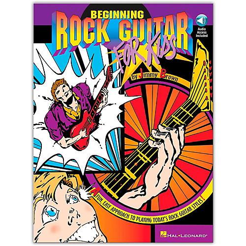 Hal Leonard Beginning Rock Guitar for Kids (Book/Online Audio) thumbnail