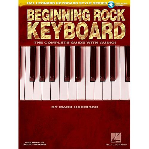 Hal Leonard Beginning Rock Keyboard (Book/CD) - Hal Leonard Keyboard Style Series thumbnail