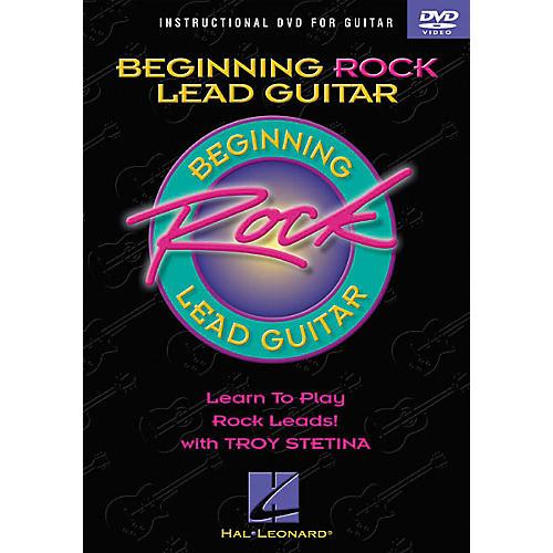 Hal Leonard Beginning Rock Lead Guitar (DVD) thumbnail