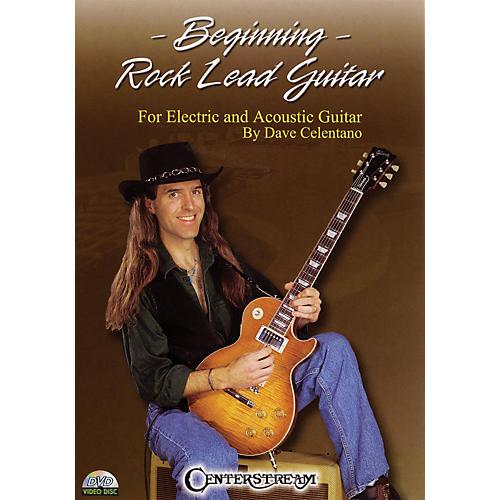 Centerstream Publishing Beginning Rock Lead Guitar Instructional/Guitar/DVD Series DVD Written by Dave Celentano thumbnail