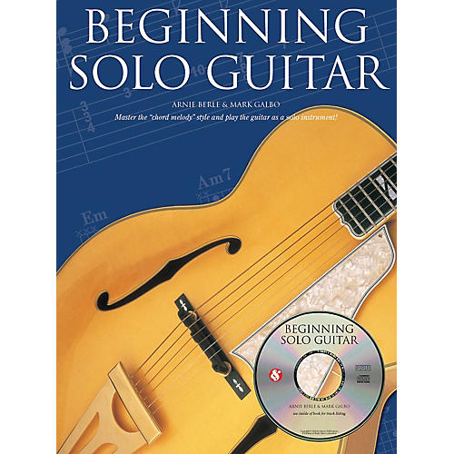Music Sales Beginning Solo Guitar Music Sales America Series Softcover with CD Written by Arnie Berle thumbnail