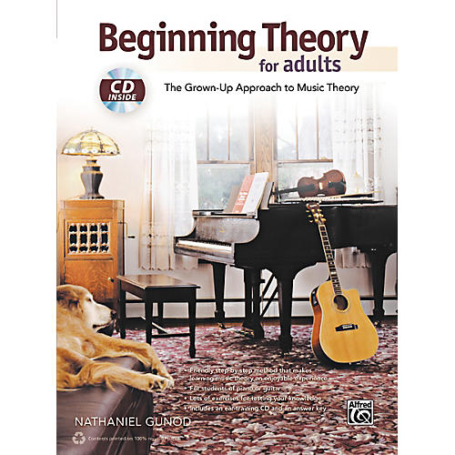 Alfred Beginning Theory for Adults Book & CD thumbnail