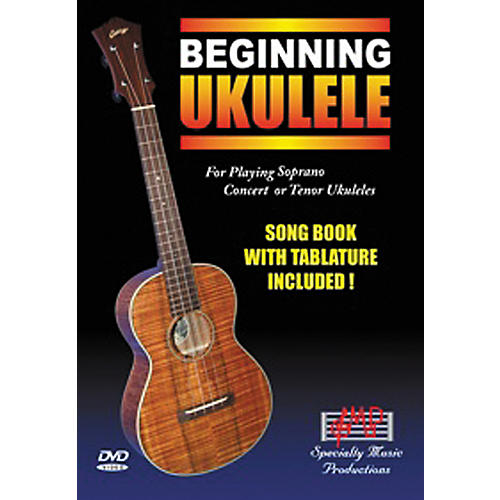 Specialty Music Productions Beginning Ukulele DVD thumbnail