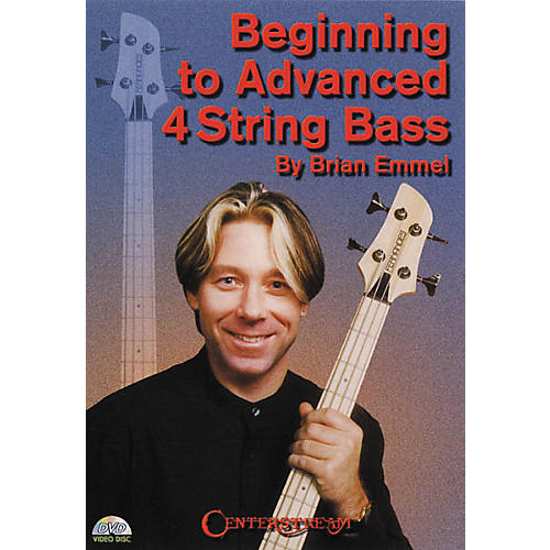 Centerstream Publishing Beginning to Advanced 4-String Bass (DVD) thumbnail