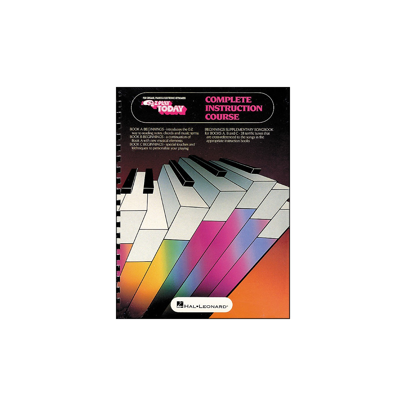 Hal Leonard Beginnings for Keyboards Complete Instruction Course (Book A, B, and C) thumbnail