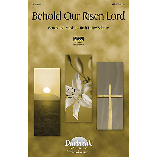 Daybreak Music Behold Our Risen Lord SATB composed by Ruth Elaine Schram thumbnail