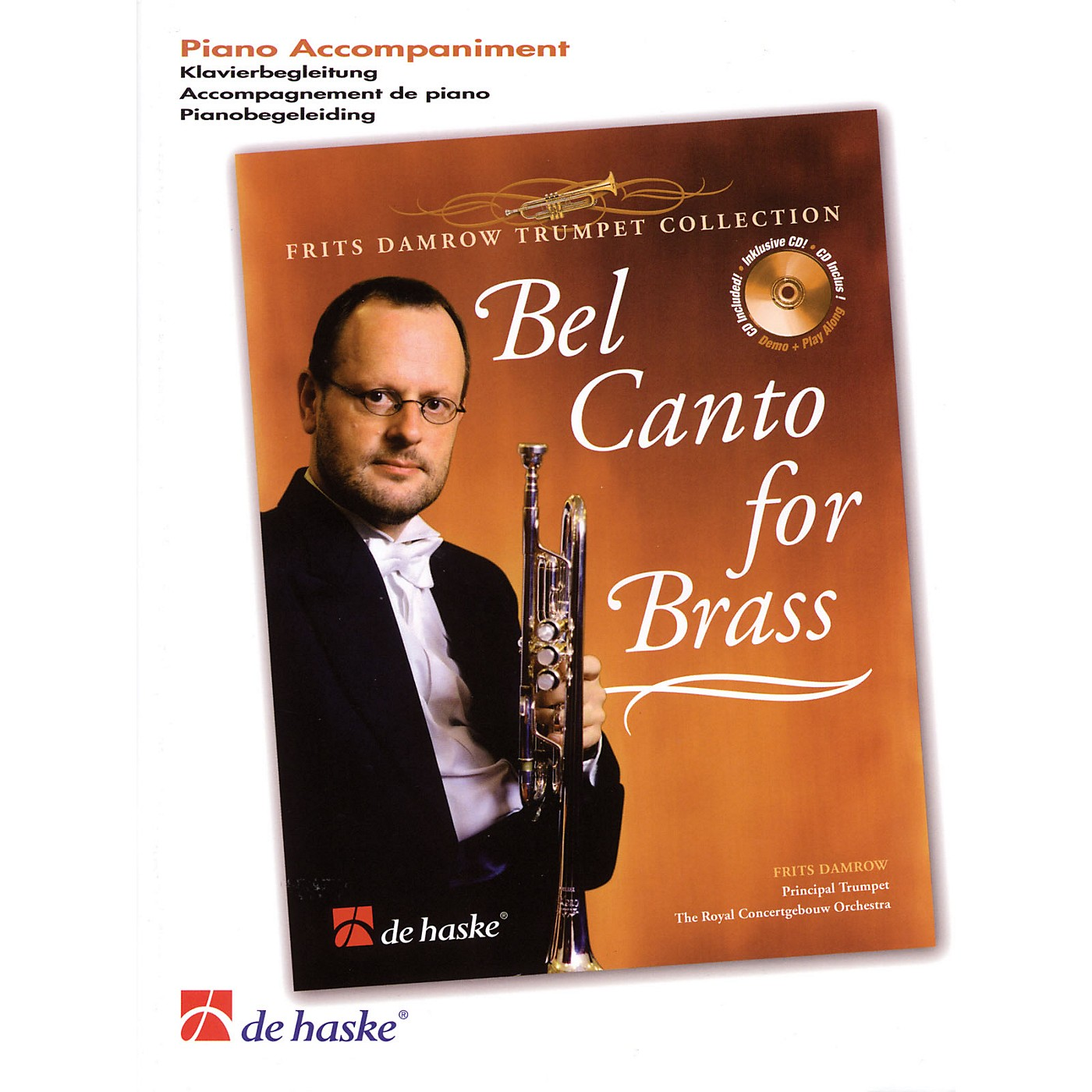 De Haske Music Bel Canto for Brass (Frits Damrow Trumpet Collection) De Haske Play-Along Book Series by Frits Damrow thumbnail