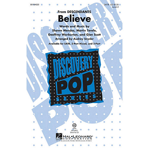 Hal Leonard Believe (Discovery Level 2) ShowTrax CD Arranged by Audrey Snyder thumbnail
