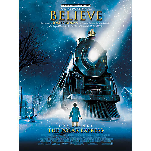 Alfred Believe (from The Polar Express) Piano/Vocal/Chords Sheet thumbnail