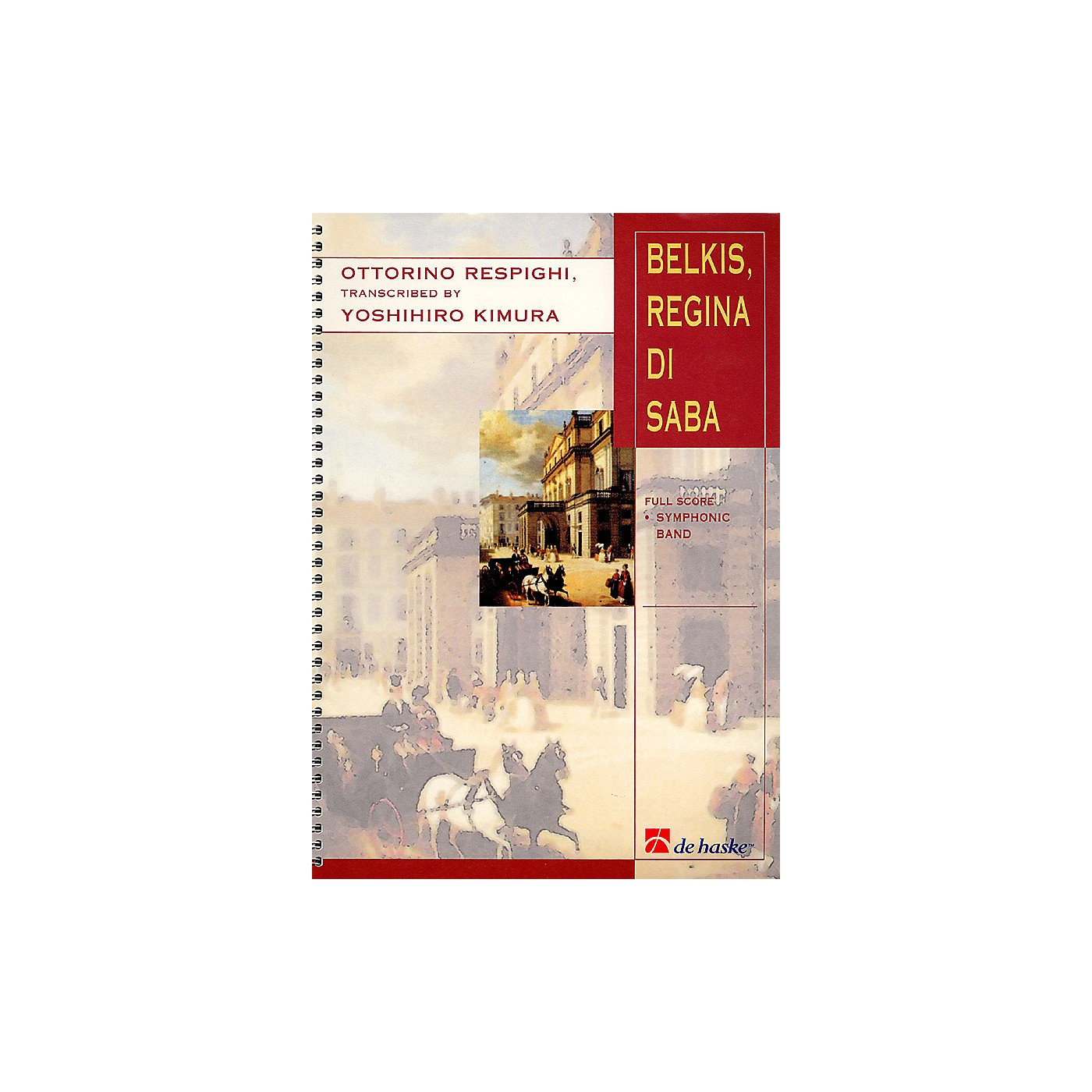 Hal Leonard Belkis, Regina Di Saba (part Ii) Score Only Concert Band thumbnail