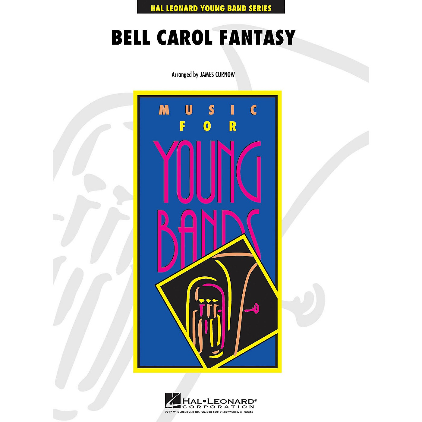 Hal Leonard Bell Carol Fantasy - Young Concert Band Level 3 by James Curnow thumbnail