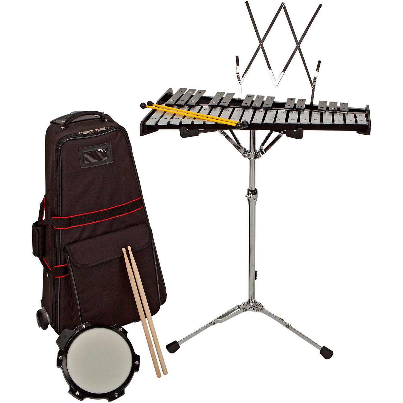 Sound Percussion Labs Bell Kit With Rolling Cart thumbnail