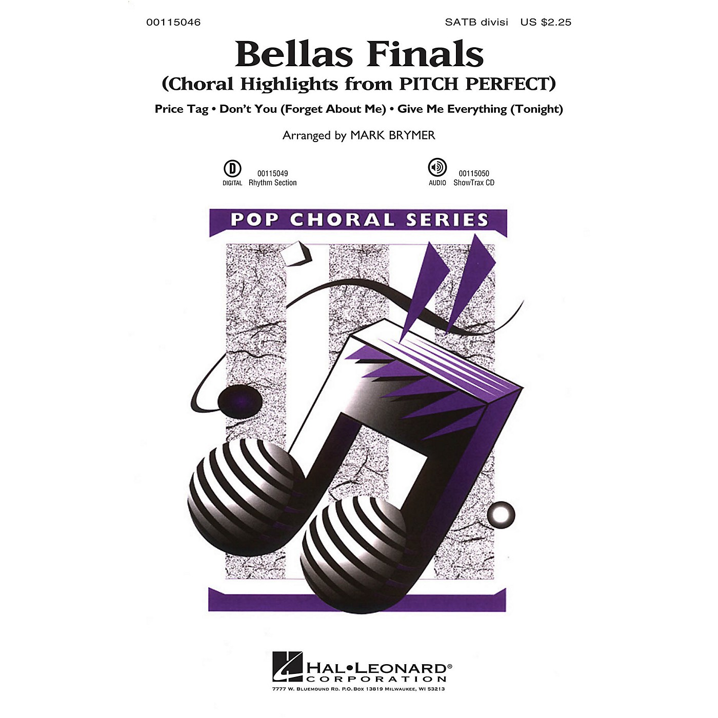 Hal Leonard Bellas Finals (Choral Highlights from Pitch Perfect) SSAA Arranged by Mark Brymer thumbnail