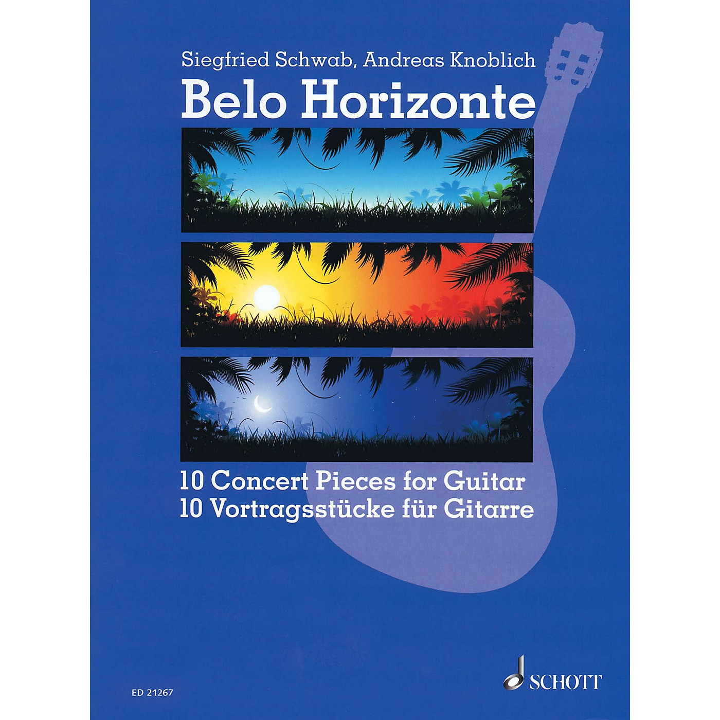 Schott Belo Horizonte (Beautiful Horizon) (10 Concert Pieces for Guitar) Guitar Series Softcover thumbnail