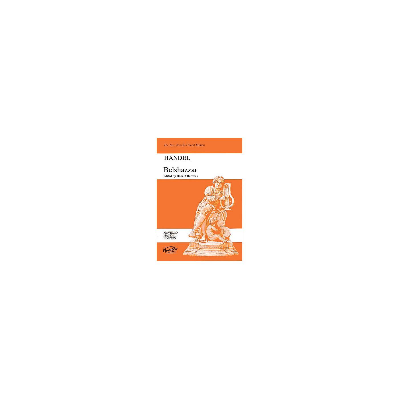 Novello Belshazzar SATB Composed by George Frideric Handel thumbnail