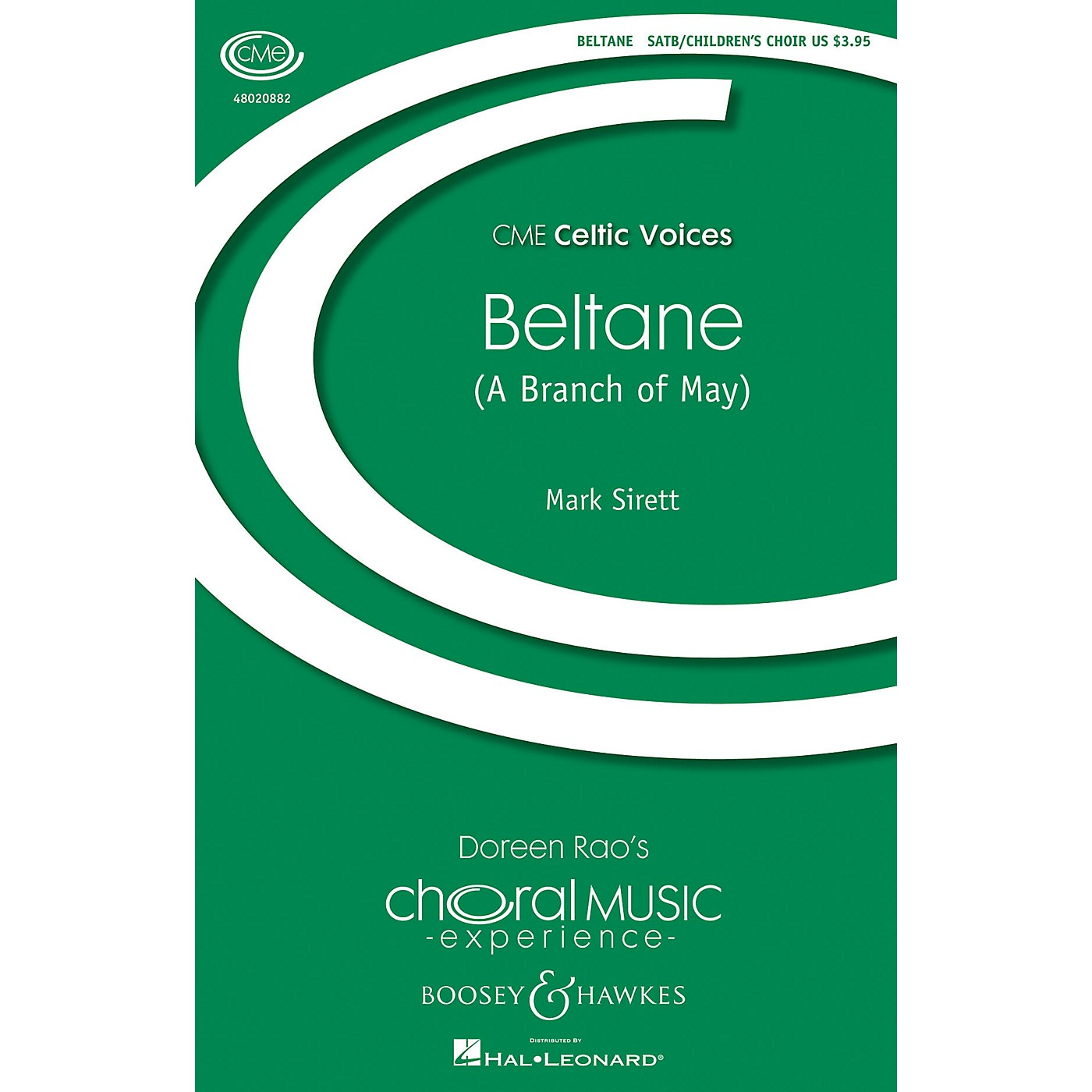 Boosey and Hawkes Beltane (A Branch of May) CME Celtic Voices SATB/CHILDREN'S CHOIR composed by Mark Sirett thumbnail