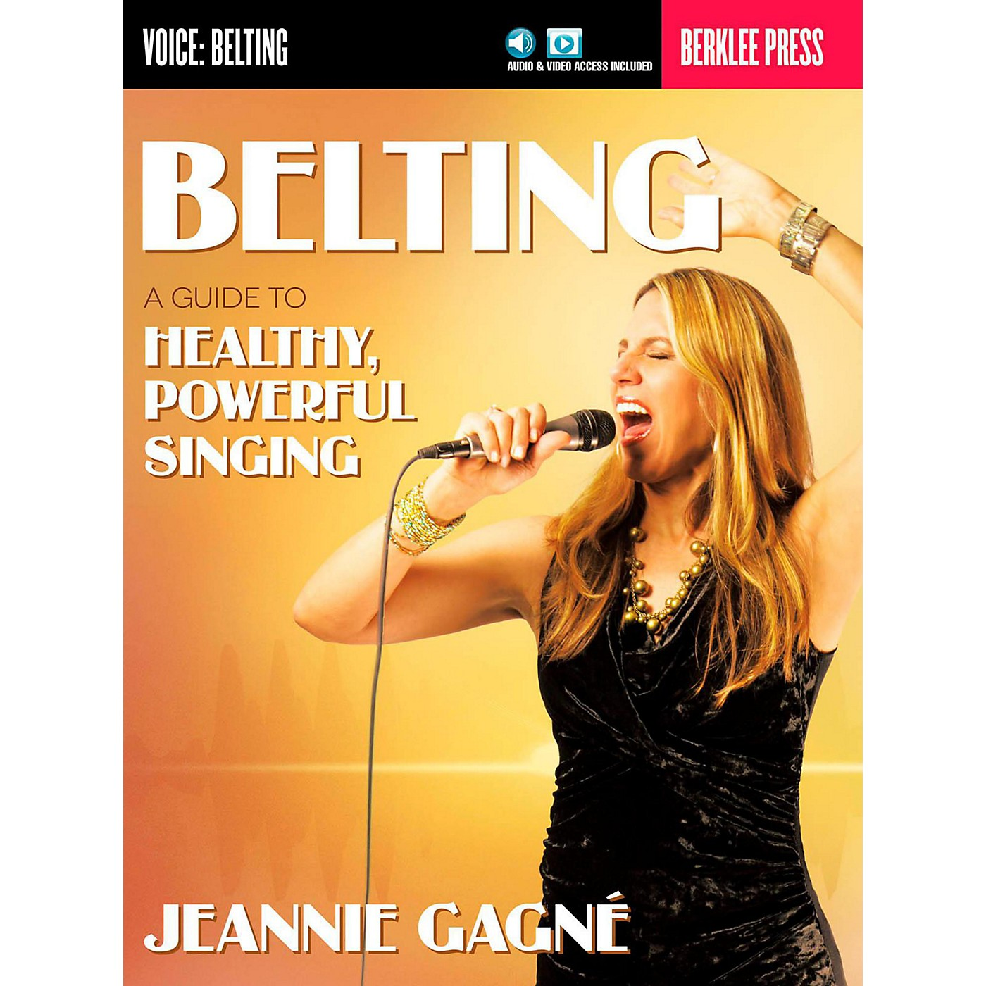 Berklee Press Belting - A Guide To Healthy Powerful Singing (Book/Online Audio) thumbnail