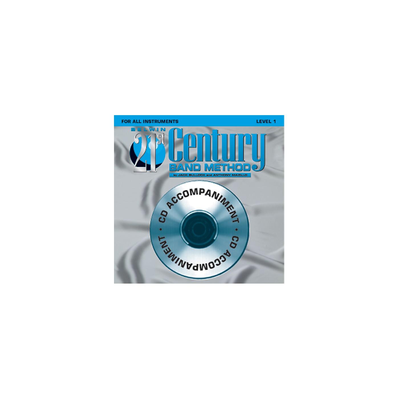 Alfred Belwin 21st Century Band Method Level 1 CD thumbnail