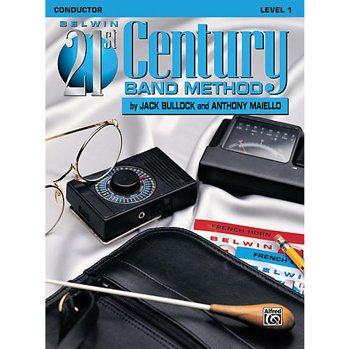 Alfred Belwin 21st Century Band Method Level 1 Conductor Book thumbnail