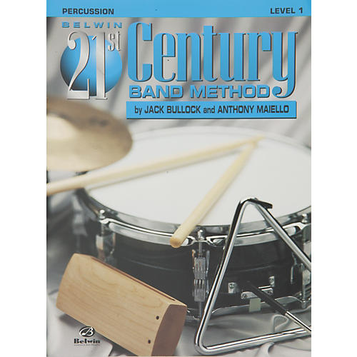 Alfred Belwin 21st Century Band Method Level 1 Percussion Book thumbnail