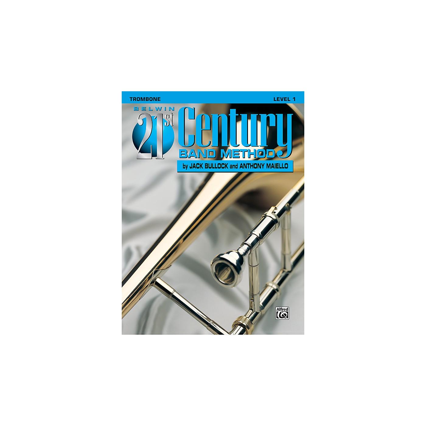 Alfred Belwin 21st Century Band Method Level 1 Trombone Book thumbnail