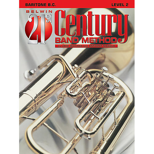 Alfred Belwin 21st Century Band Method Level 2 Bari BC Book thumbnail