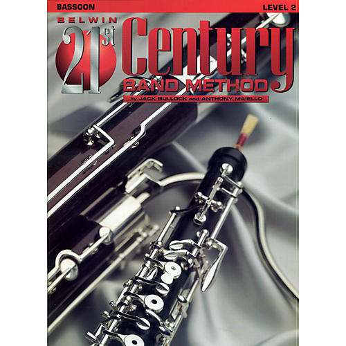Alfred Belwin 21st Century Band Method Level 2 Bassoon Book thumbnail
