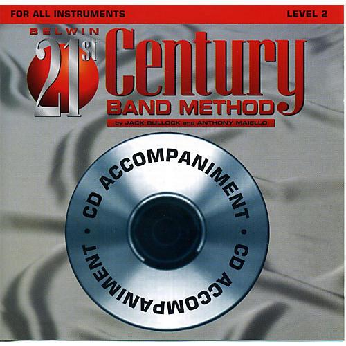 Alfred Belwin 21st Century Band Method Level 2 CD thumbnail